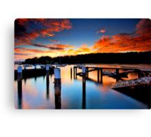 Balmoral Sunrise Canvas Print