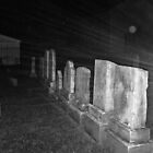 Haunted Rays Pompton Plains Cemetery by Jane Neill-Hancock