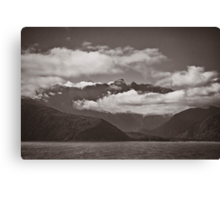 ~ land of the long white cloud ~ Canvas Print