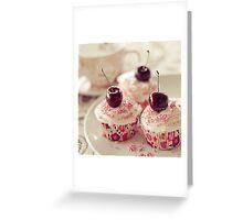 A little cupcake heaven... Greeting Card