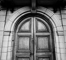 The Library Door by LadyThegn