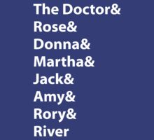 The Doctor and His Many Companions by Margaret Wickless