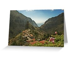Masca - A Village in theMountains Greeting Card