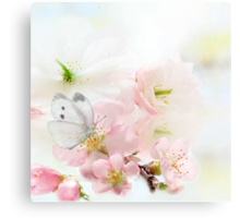 The Silent World of a Butterfly Metal Print