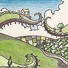 irish landscape by Ronan Crowley