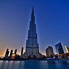 Burj Khalifa Sunset by Michael Powell