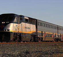 California Amtrak Commuter  by ZenCowboy