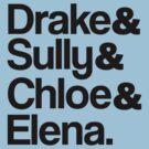 Drake & Sully & Chloe & Elena. by ScottW93