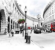 Regent Street, London by Fiona Wilkinson