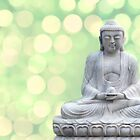 buddha lights (green) by hannes cmarits