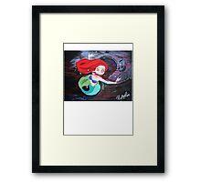 Ariel's Awakening Framed Print