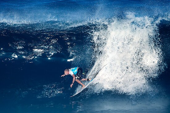 Mick Fanning by Alex Preiss