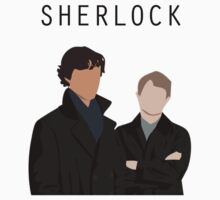 Sherlock and John Art Shirt by jjangmiki