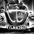 Volkswagen Beetle in Black and White by Nigel Butterfield