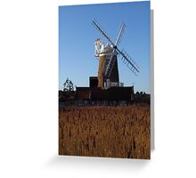 Cley Windmill, Norfolk Greeting Card