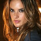 Victoria&#x27;s Secret model Alessandra Ambrosio poses in Cipriani NY by Anton Oparin