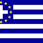 New Greek flag by João Figueiredo