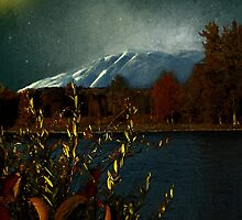 Midnight Blue in the Mountains by RC deWinter