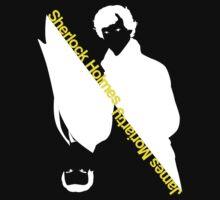 Sherlock Holmes/James Moriarty by claudiasana