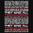 Teenagers Lyrical (My Chemical Romance) by Dsavage94