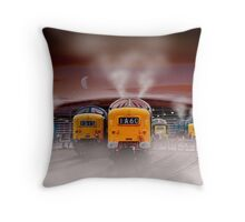 Napiers in the Mist Throw Pillow