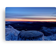 The Top of Wales Canvas Print