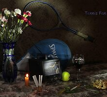Tennis Fan by FrankSchmidt