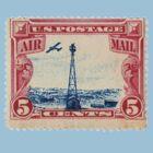 Air Mail Stamp: Politburo Design by richard b. hamer