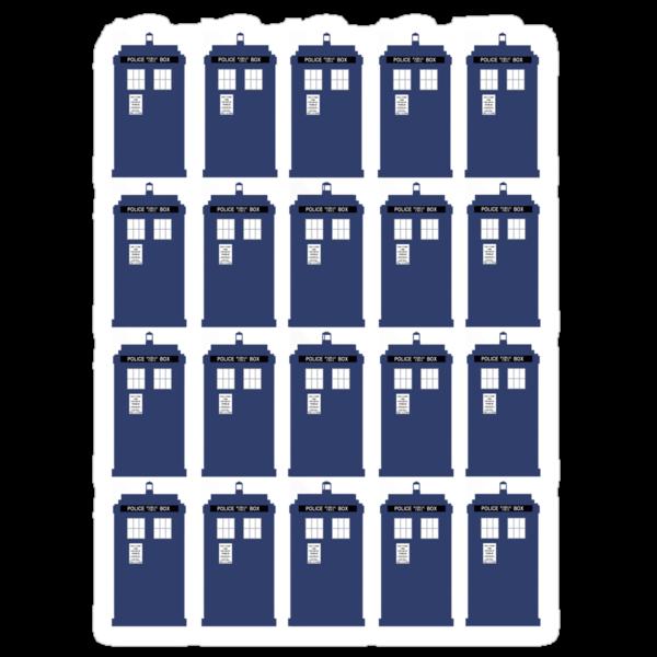 Plural TARDIS by bradylee