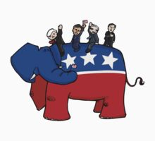 GOP Elephant Kids Clothes