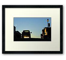 Stardusty Ride Framed Print