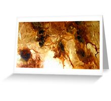 Abstract Colors Oil Painting #77 Greeting Card