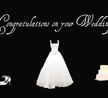 Congratulations on Your Wedding by DebbieCHayes