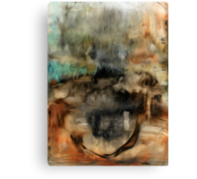 Abstract Colors Oil Painting #73 Canvas Print