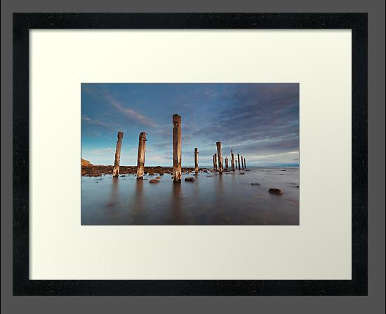 Myponga Beach Jetty by Bill  Robinson