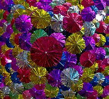Umbrellas by Mark Jackson