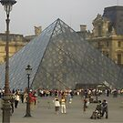 Louvre Pyramid by keany16