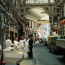 Leadenhall Market London, UK, 1970&#x27;s. by David A. L. Davies