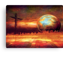 refiner's fire Canvas Print