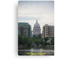 Madison Wisconsin the Capitol Building Canvas Print