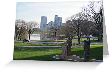 Milwaukee Skyline Cityscape by Thomas Murphy