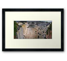Iguazu Overview Framed Print