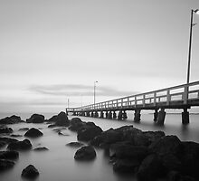 Wellington Pt Jetty - Qld Australia by Beth  Wode
