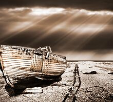 fishing boat graveyard toned by meirionmatthias