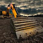 threatening and moody excavator by meirionmatthias