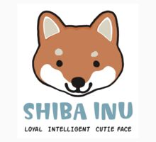 Shiba Inu: Loyal  Intelligent  Cutie Face by Jenn Inashvili