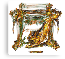 Baroque Angeldust Canvas Print