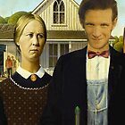 Doctor Who in American Gothic by Stasia04