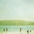 Summer Beach by Colleen Farrell