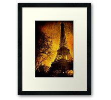 Esthetic Luster Framed Print